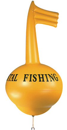 Vue 5 : Bouée Kristal Fishing G/SR