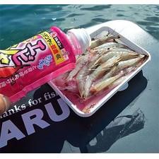 Vue 5 : Attractant pour appâts liquide Marukyu Ebishaki