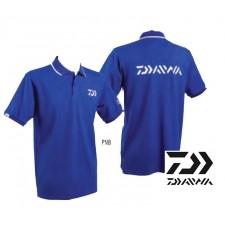 Vue 5 : Polo Bleu Navy Manches Courtes Daiwa