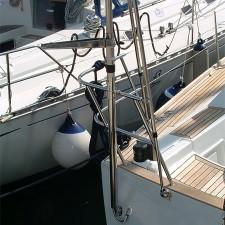Vue 5 : Support Antenne et Radar Gibi Marine