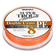 Vue 5 : Tresse Varivas Double Cross Orange - 92 m