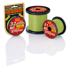 Vue 5 : Tresse WFT KG Strong New Chartreuse - 2000 m