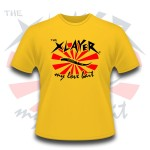 Tee Shirt Megabass X-Layer Love Bait Jaune