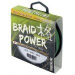 Tresse Powerline Braid Power Verte - 250 m