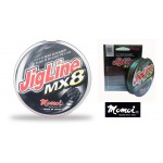 Photos de Tresse Momoi JigLine MX8 multicolore