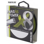 Tresse Powerline Braid Power 8 Brins Verte - 135 m