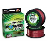 Tresse Shimano Power Pro Super Lines Rouge - 455 m