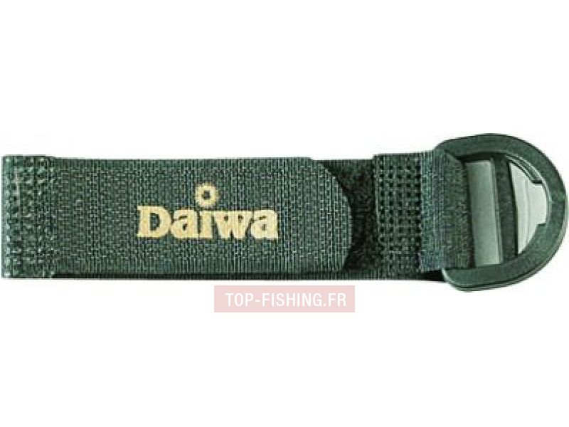 Vue 1) Attache canne Daiwa ACV court velcro