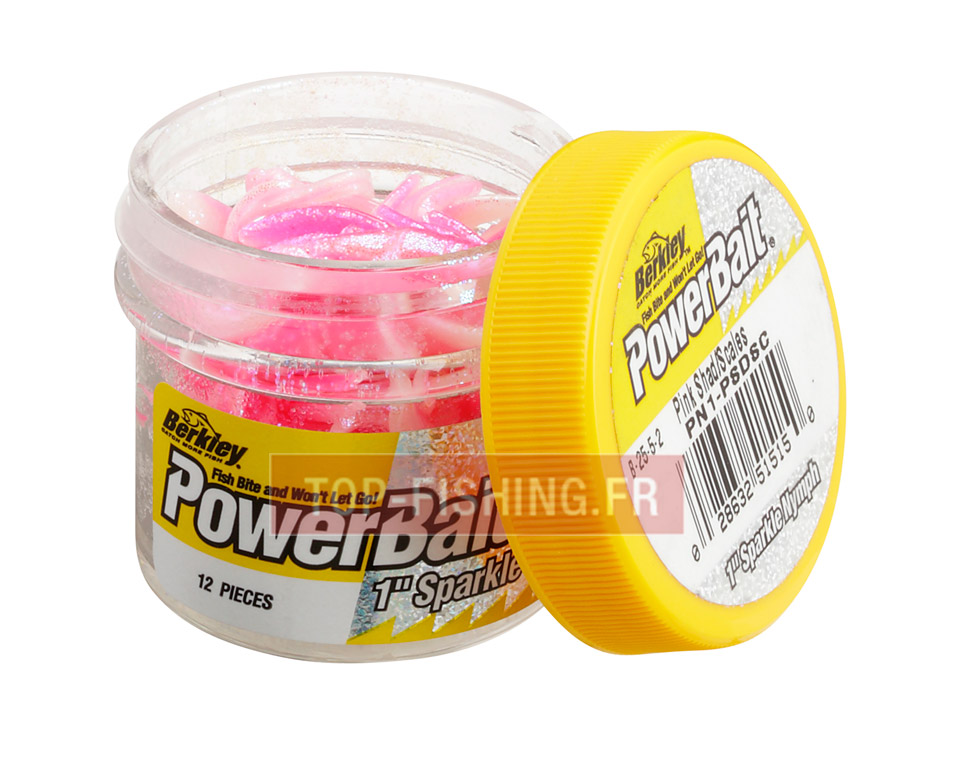 Vue 1) Appâts Berkley PowerBait Micro Powerbait Sparkle Nymph - 2,5 cm