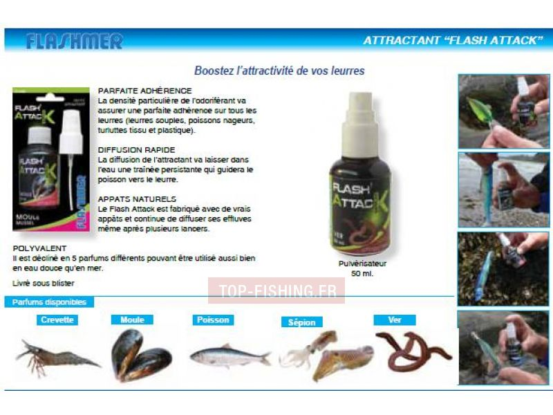 Vue 1) Attractant Flashmer 50ml Flash Attack