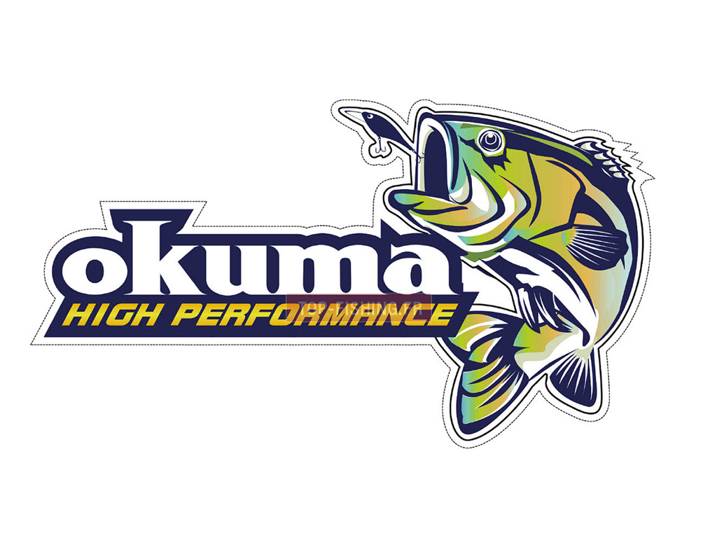 Vue 1) Autocollant Okuma High Performance