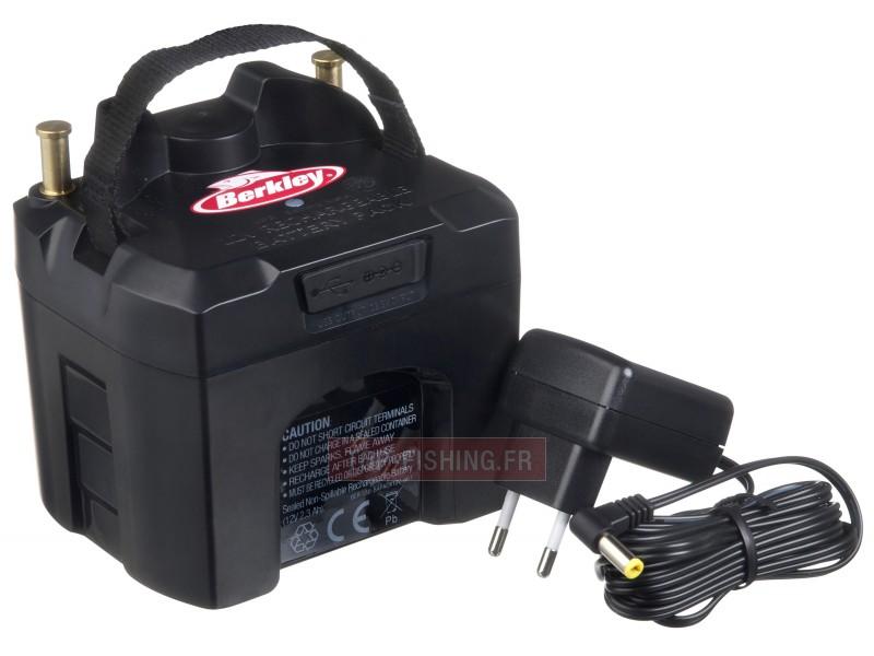Vue 1) Batterie Berkley Fishin Gear