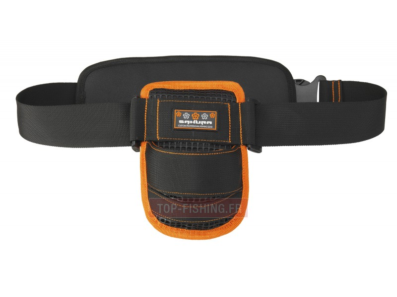 Vue 1) Baudrier Sakura Fight Belt