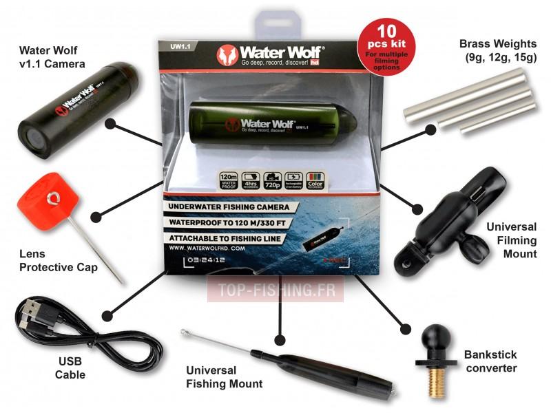 Vue 2) Caméra Savagear WaterWolf Underwater UW