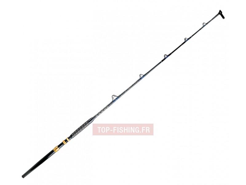 Vue 1) Canne Marlin Kristal Fishing
