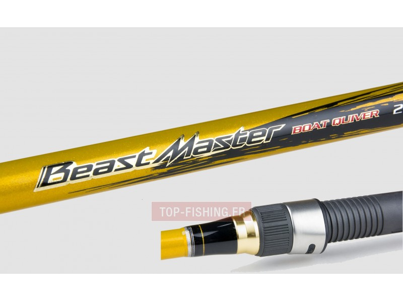 Vue 3) Canne Shimano Beastmaster Boat Quiver