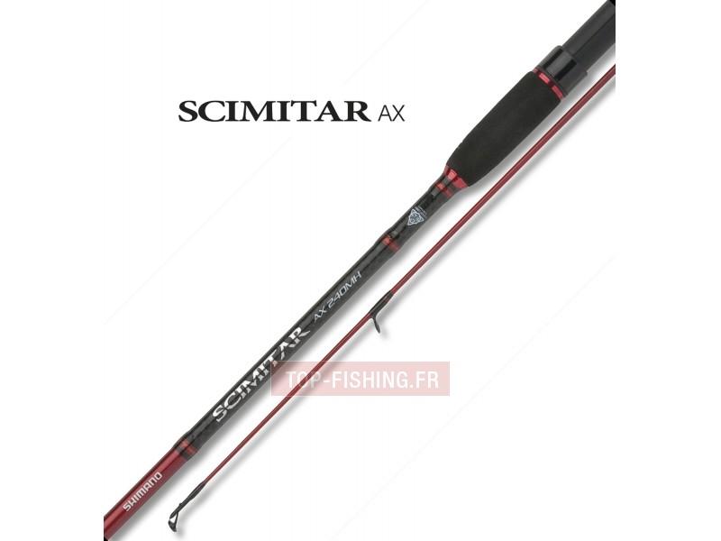 Vue 1) Canne Shimano Scimitar AX Spin