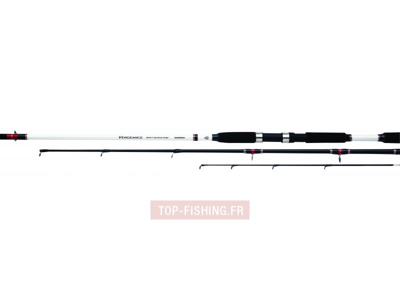 Vue 1) Canne Shimano Vengeance Boat Quiver