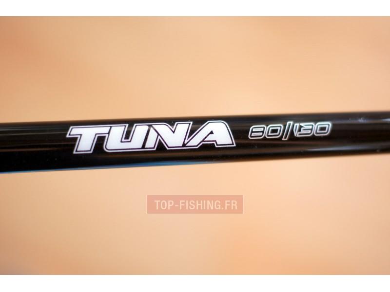 Vue 2) Canne Top Sea Tuna