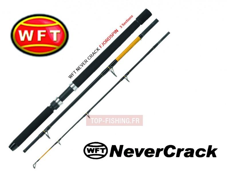Vue 1) Canne WFT Never Crack Fjordspin Travel