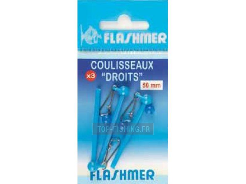 Vue 1) Coulisseaux droits Flashmer