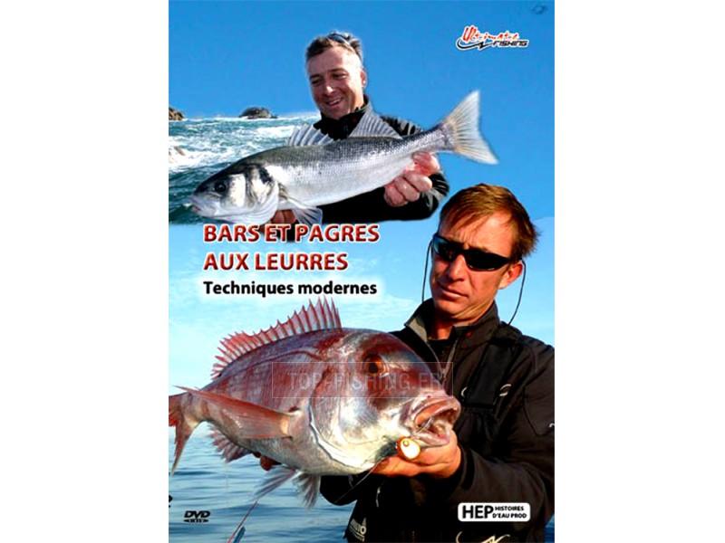 Vue 1) DVD Ultimate Fishing Bars et Pagres aux leurres