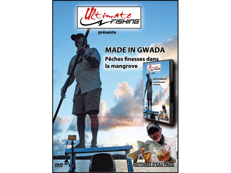 Vue 1) DVD Ultimate Fishing Made in Gwada