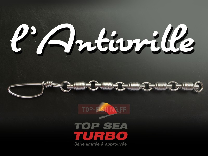 Vue 1) Emerillon Top Sea Turbo l\'Antivrille
