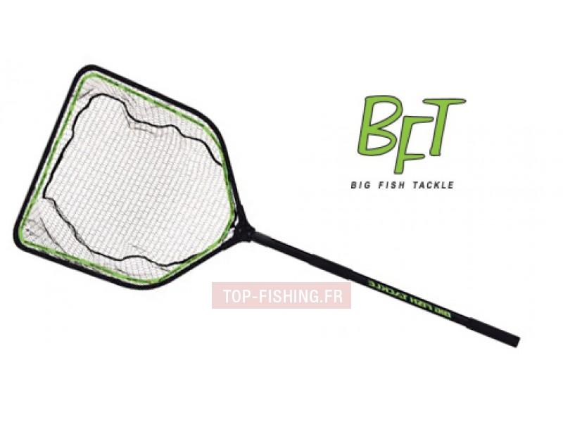 Vue 1) Epuisette BFT Monster Net