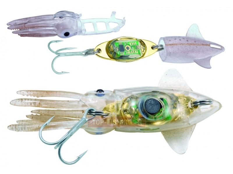 Vue 3) Squid pour leurre Esca