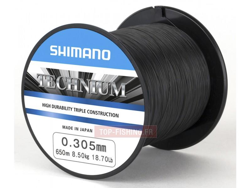 Vue 1) Fil Nylon Shimano Technium - Quarter Pound