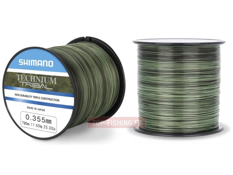 Vue 1) Fil Nylon Shimano Technium Tribal - Quarter Pound