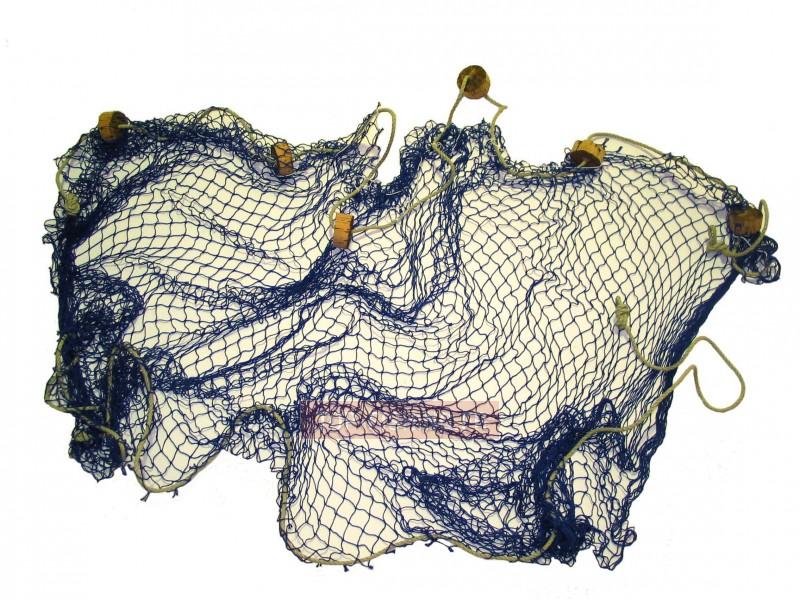 Vue 2) Filets de Décoration Roudier - Bleu