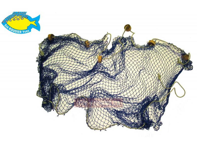 Vue 1) Filets de Décoration Roudier - Bleu