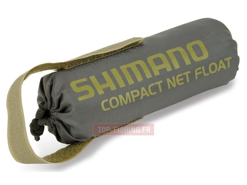 Vue 1) Flotteur Epuisette Olive Shimano