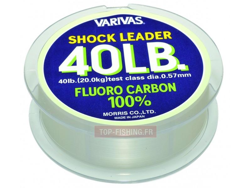 Vue 1) Fluorocarbone Varivas Shock Leader - 30 m
