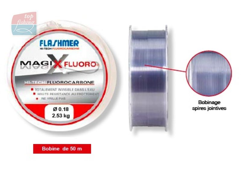 Vue 1) Fluorocarbone Flashmer Magix Fluoro