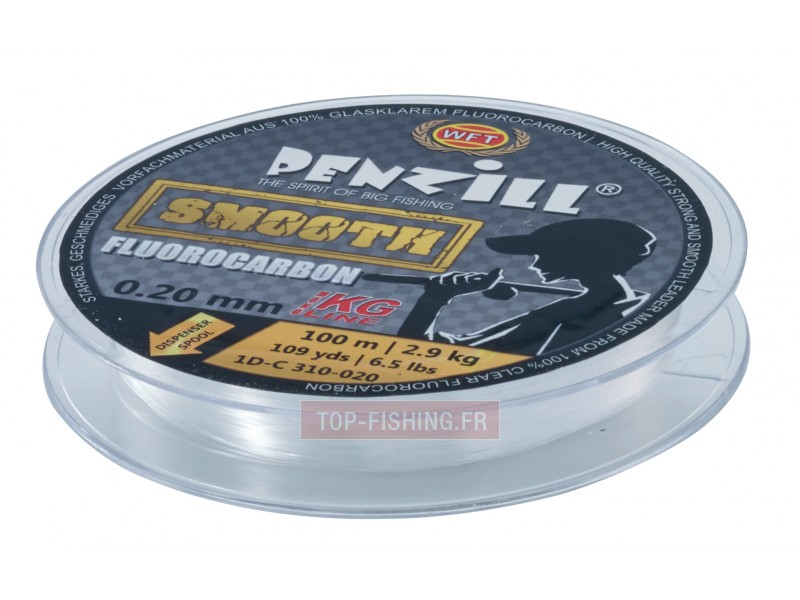 Vue 2) Fluorocarbone WFT Penzill Smooth 200m