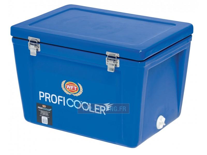 Vue 1) Glacière WFT Profi Cooler