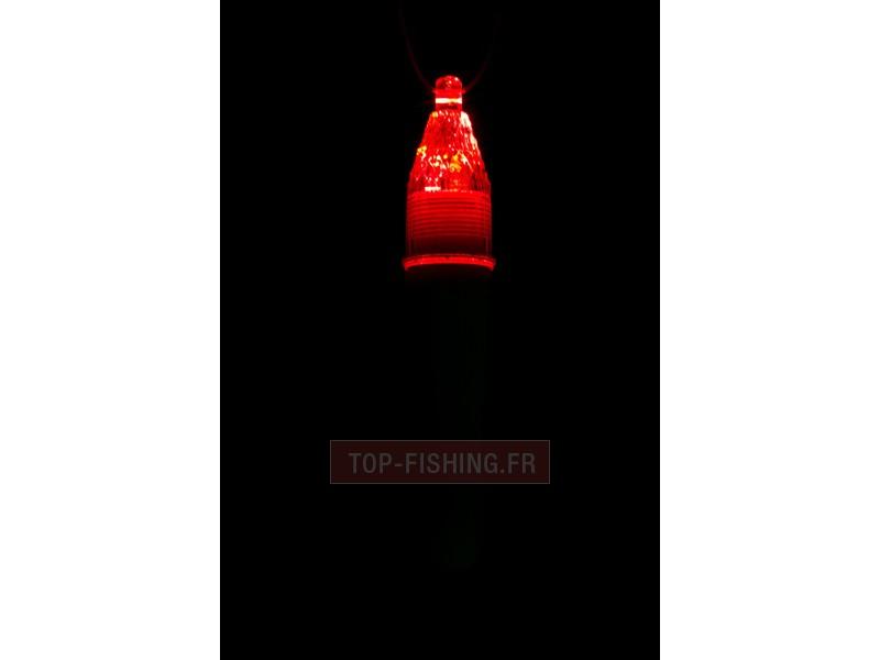 Vue 2) Lampe Grand Fond Kristal Fishing LP14-I - Spécial Calamar