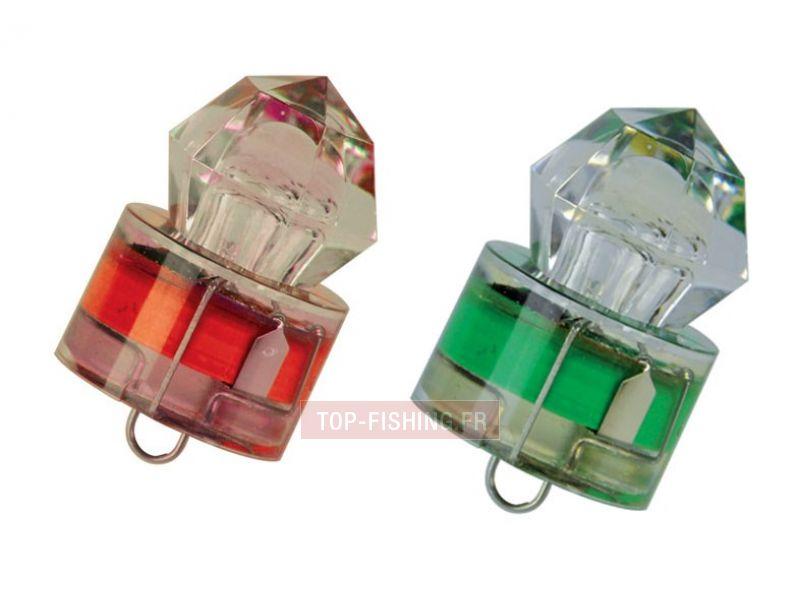 Vue 1) Lampe flash pour calamar grands fonds