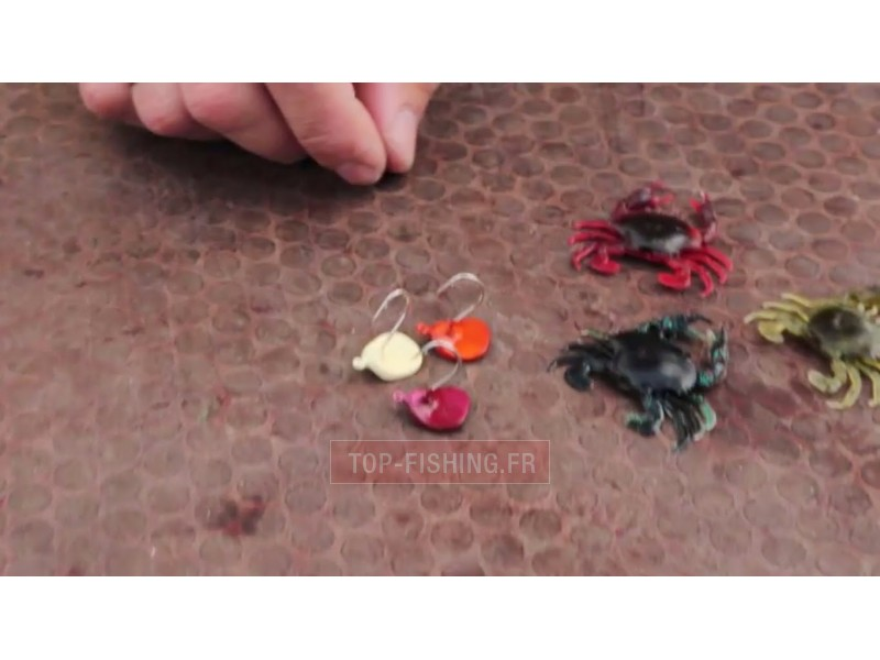 Vue 2) Leurre Savage Gear 3D Crab