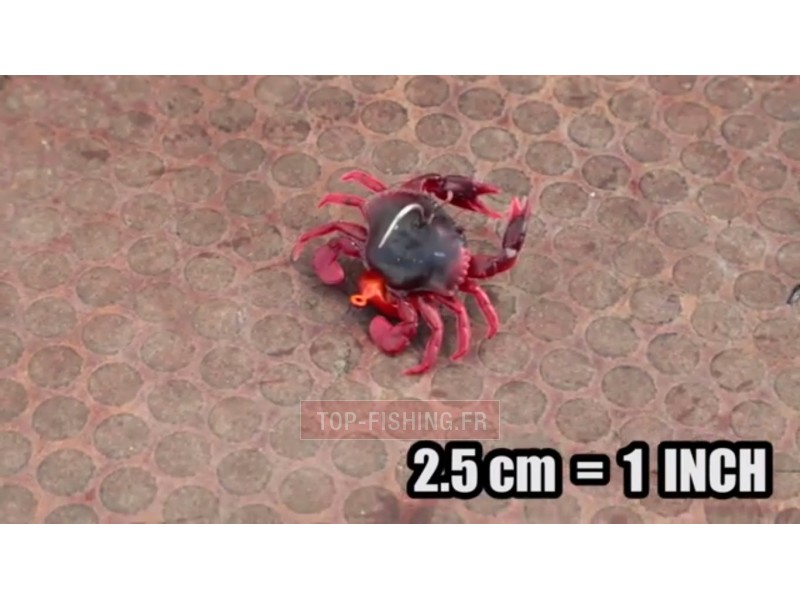 Vue 3) Leurre Savage Gear 3D Crab