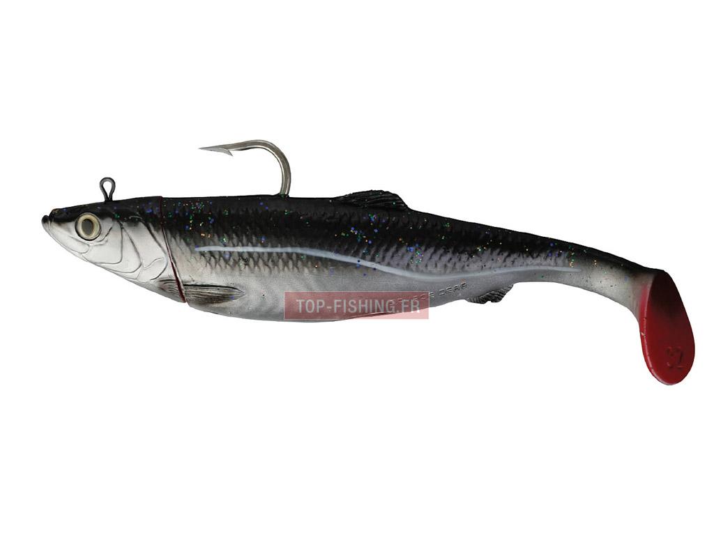 Vue 2) Leurre Savagear 3D Herring Big Shad - 25 cm