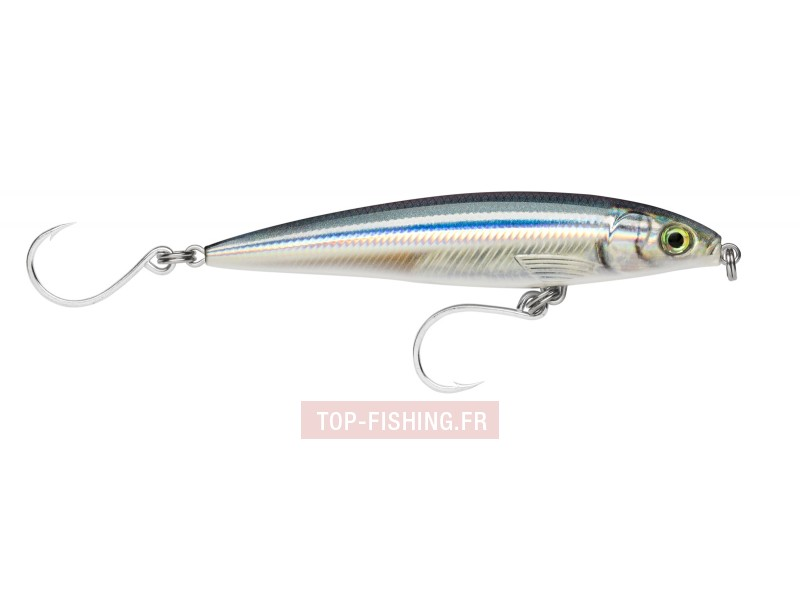 Vue 2) Leurre Rapala X-Rap Long Cast Shallow - 120 mm