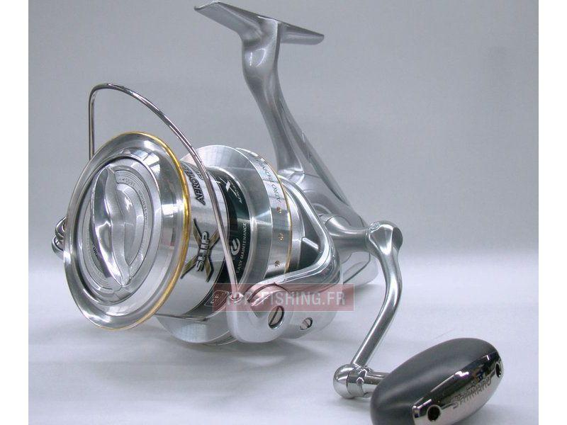 Vue 5) Moulinet Shimano Aero Technium MgS XS-B