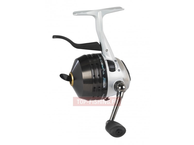 Vue 1) Moulinet Mitchell Turbo Spin