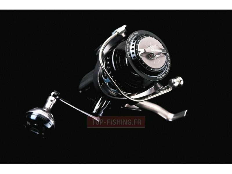 Vue 5) Moulinet Okuma Makaira SW (spinning)