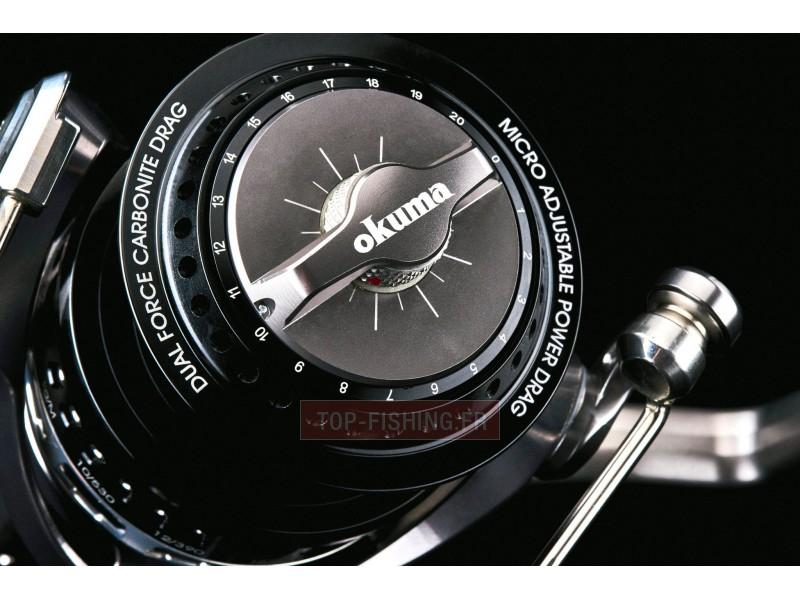Vue 2) Moulinet Okuma Makaira SW (spinning)