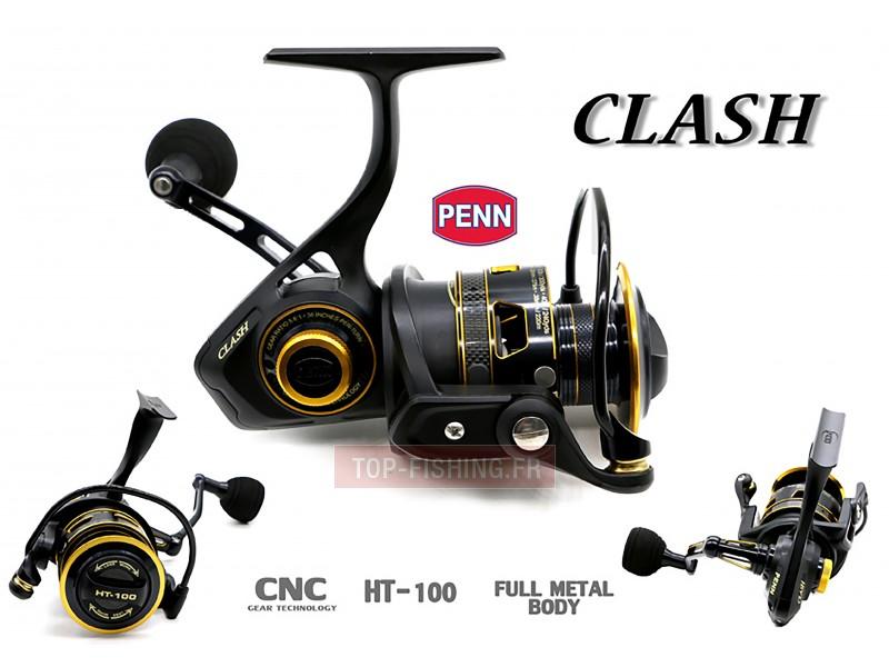 Vue 2) Moulinet Penn Clash